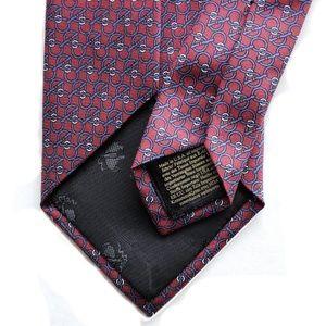 Brooks Brothers Accessories - Brooks Brothers New York Bit Chain Link Print Tie